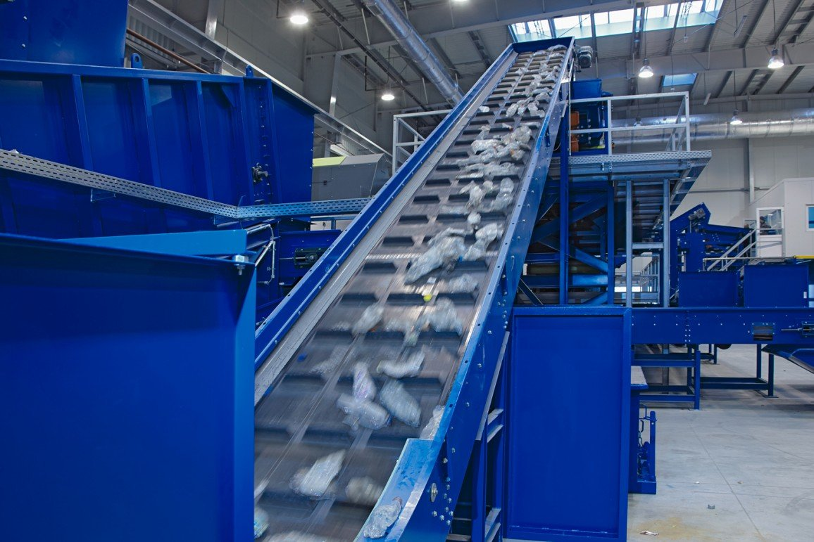ALPLA recycling plant in Poland