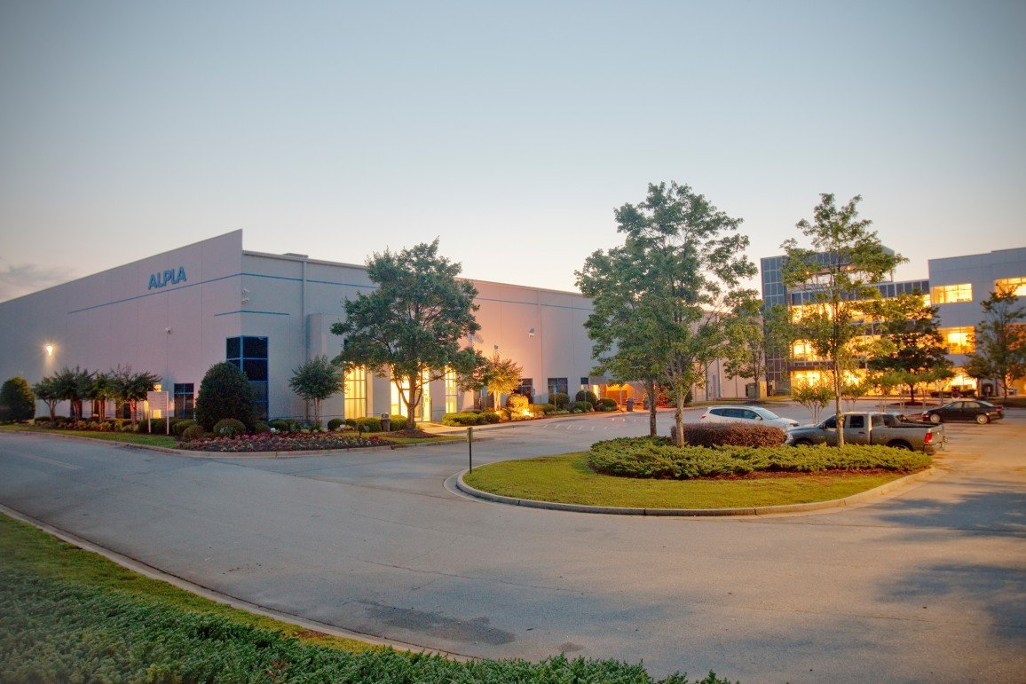 ALPLA plant and HQ in McDonough, GA, North America